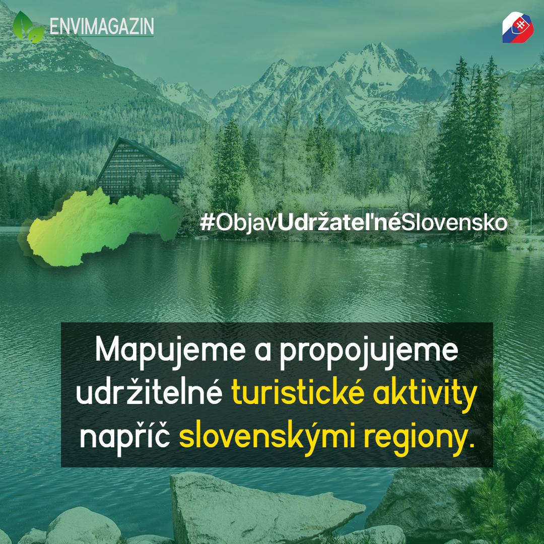 Spolu s AICES objevujeme udržitelné Slovensko